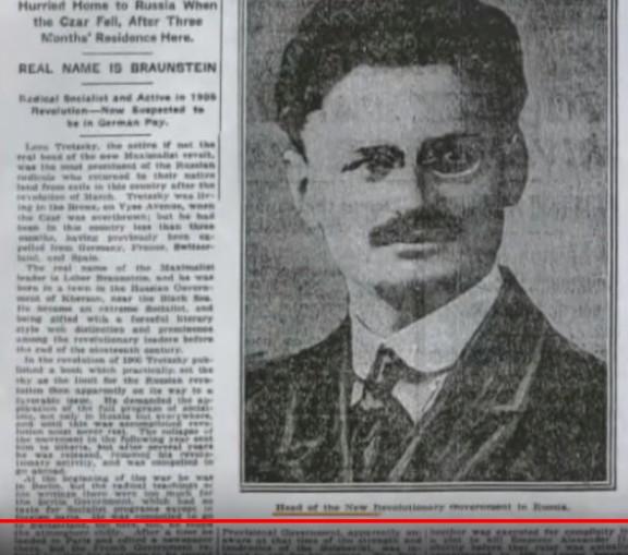 Троцкий - Предсетель Совнаркома