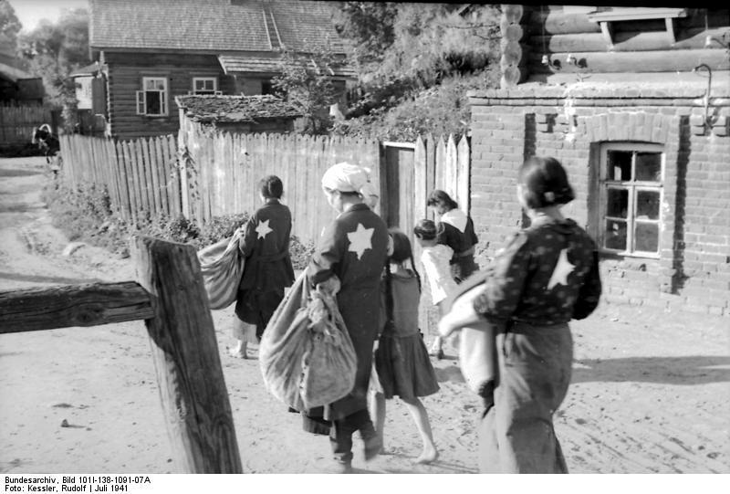 Выселение в гетто евреев Могилёва в июле 1941 года