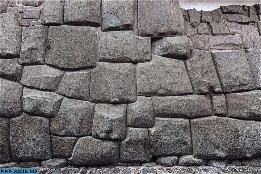 Кладка в Мачу Пикчу.