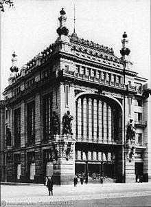 Здание, в котором располагался Русско-Китайский банк, фото 1903 года