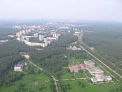 Фото Троицк с  высоты