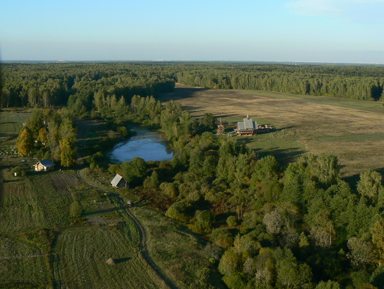 Введенское-Борисовка с высоты птичьего полета