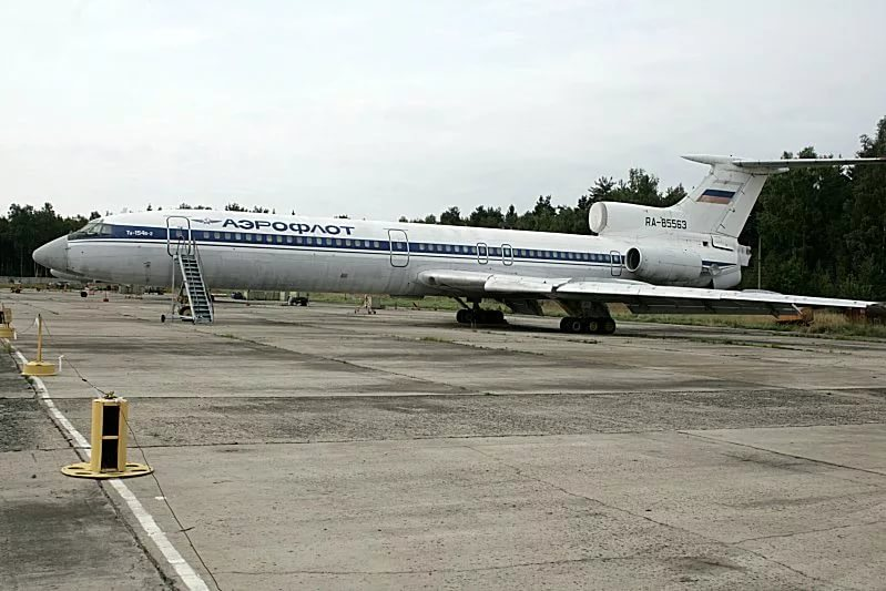 Как усмиряли танцующий Ту-154 (видео)