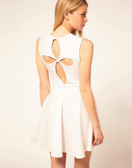 Вырезы на спине на платьях
