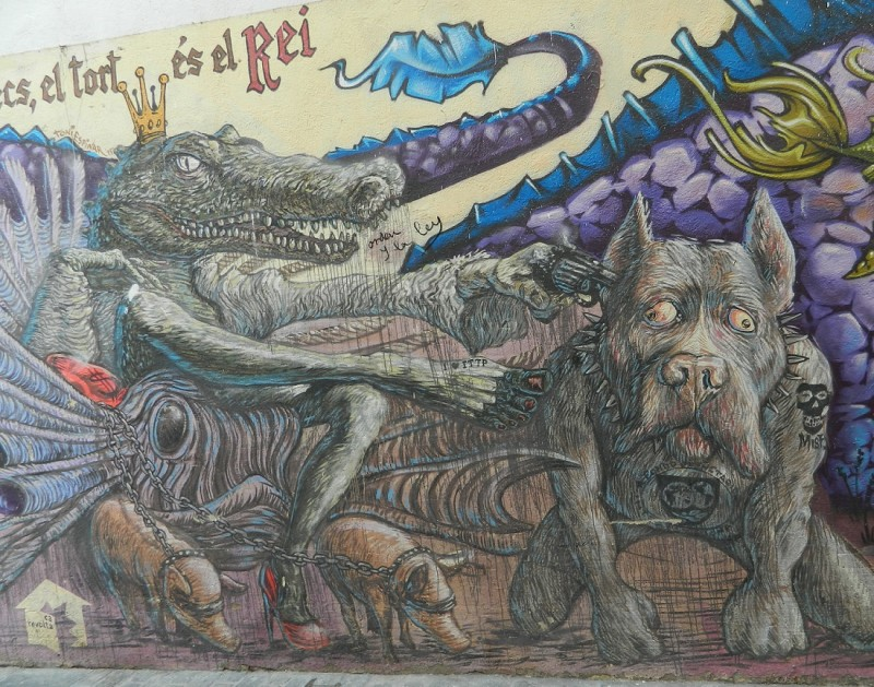 Валенсия. Граффити на Calle Canete