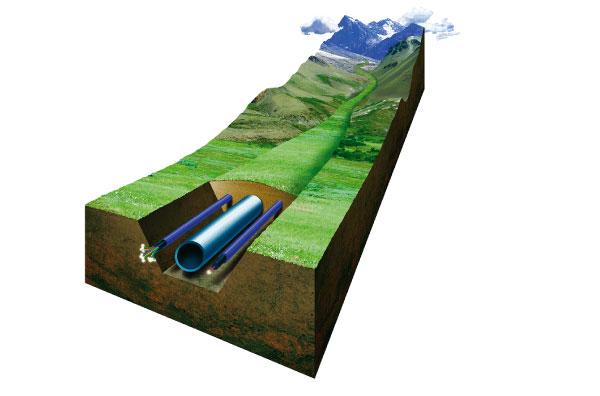 Проложи оптоволокно вдоль трубы, не дай стыбрить нефть