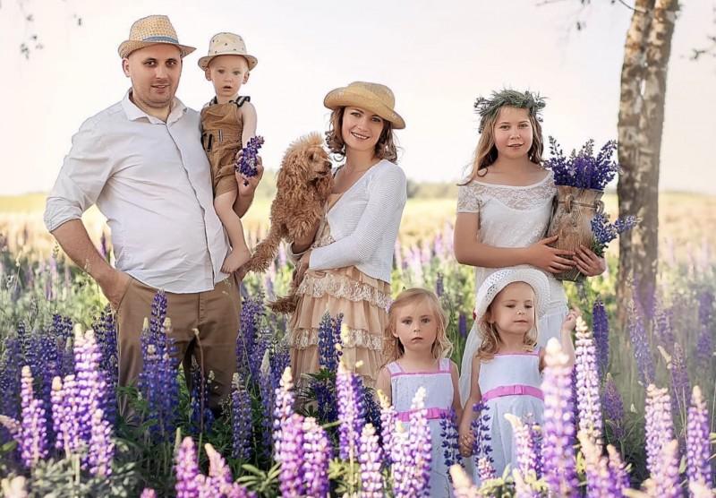 Семья Дениса и Ангелины