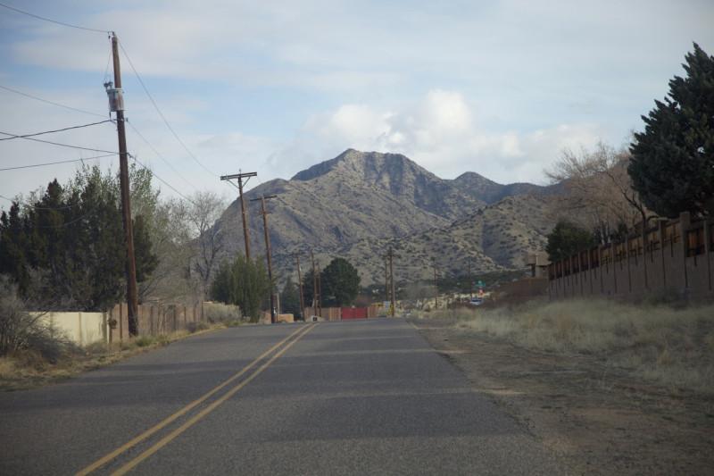 Гора в г.Альбукерке