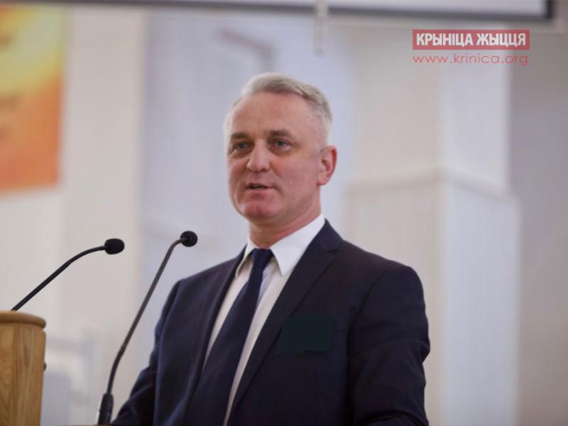 Председатель Союза ЕХБ в РБ Леонид Михович