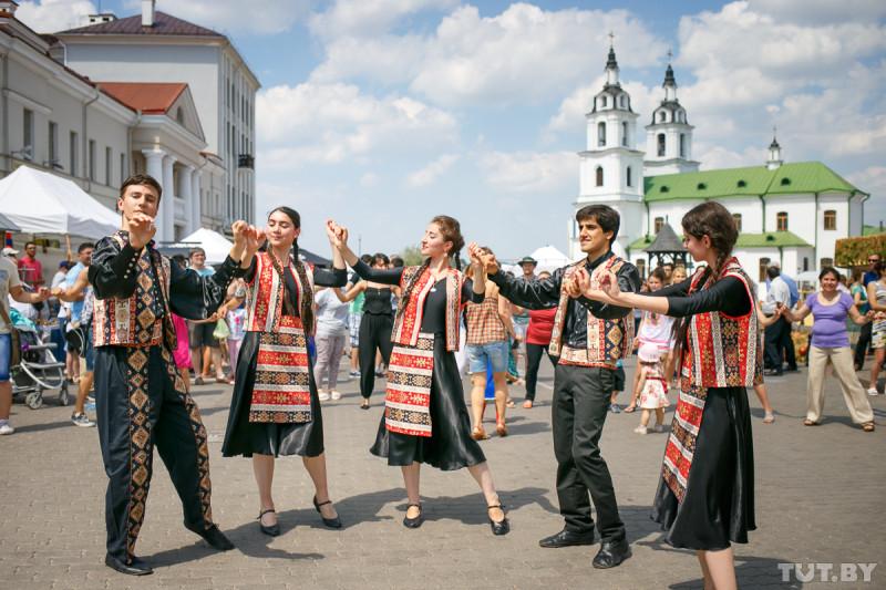 Грузины в Минске