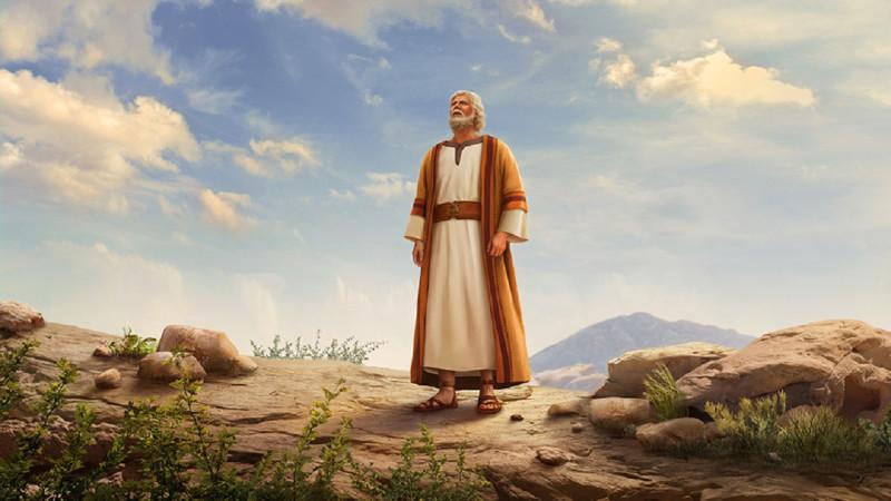 Авраам предстоит перед Богом и получает Его благословение