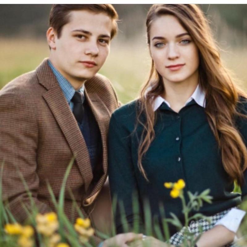 Даниил с женой Юлией