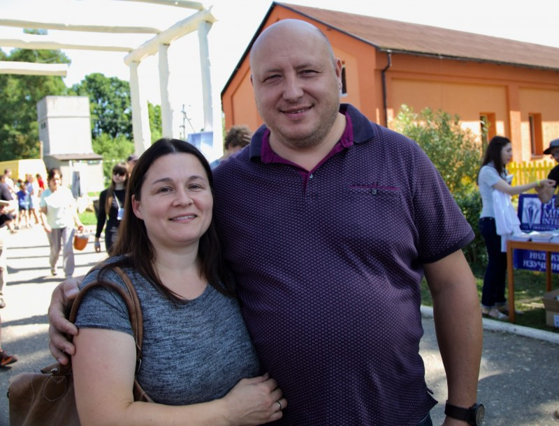 Гости из Латвии были проездом и заглянули на конгресс