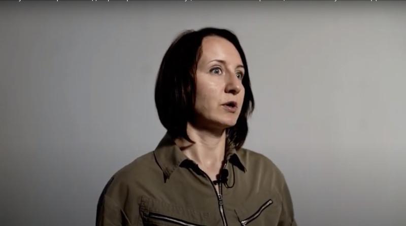 Татьяна Белашова. Скриншот из ее видео интервью