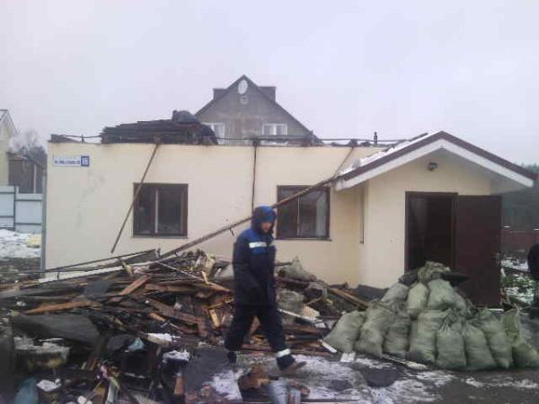 Пожар в Боровлянах