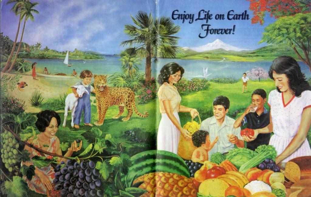 рай на земле в картинках свидетелей