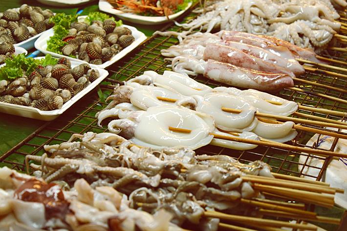 Таиланд Паттайя ночной рынок