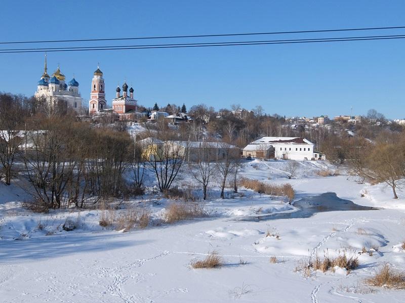 Болхов - красивый малый город в Черноземье