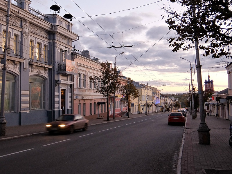 Калуга, ч.1 - старый центр