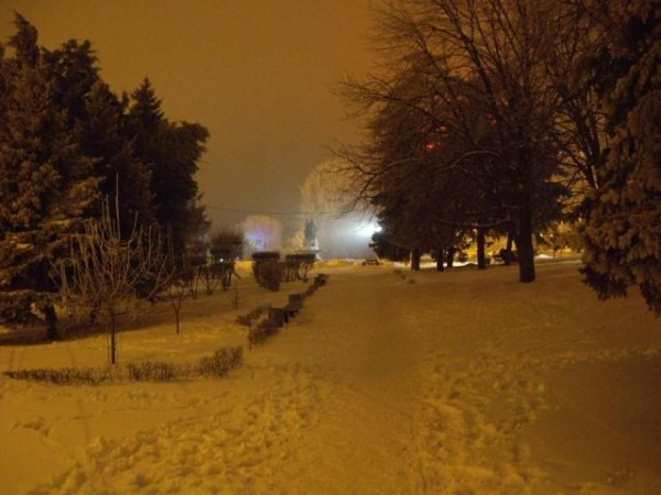 зима в Волгогограде