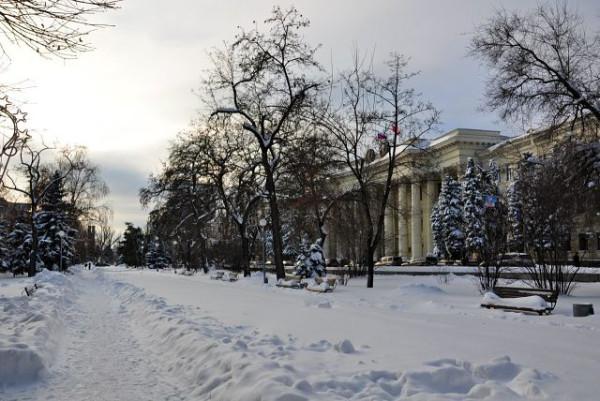 снег)))