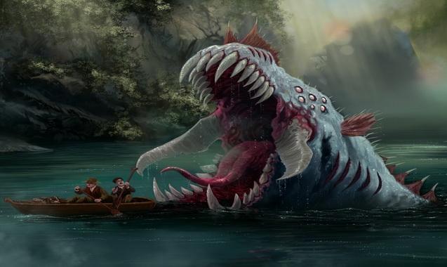 Лохнесское-чудовище