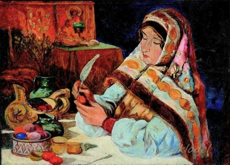 Художник Лебедев Клавдий Васильевич (1852-1916)