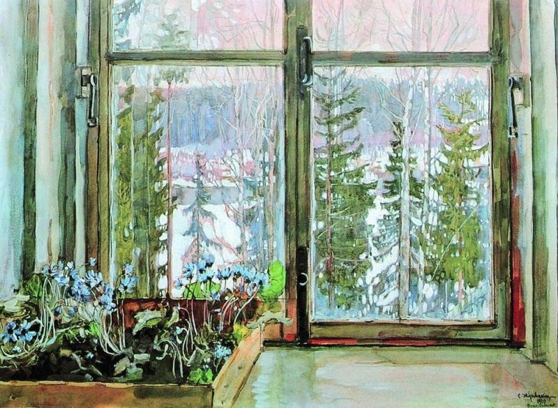 Весна. Автор - С.Ю. Жуковский