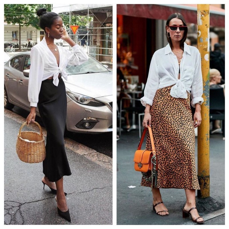 Модные акценты- узлы на одежде