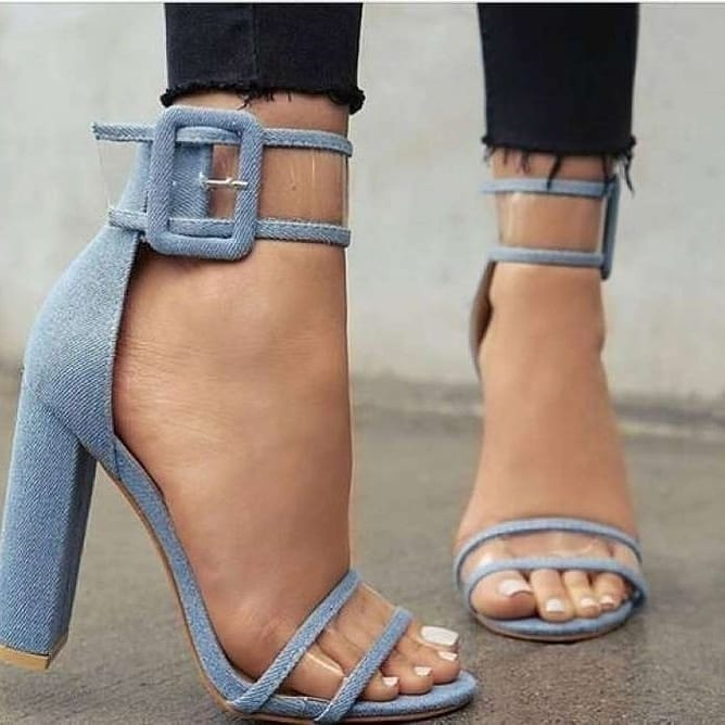 Джинсовая обувь - это любовь