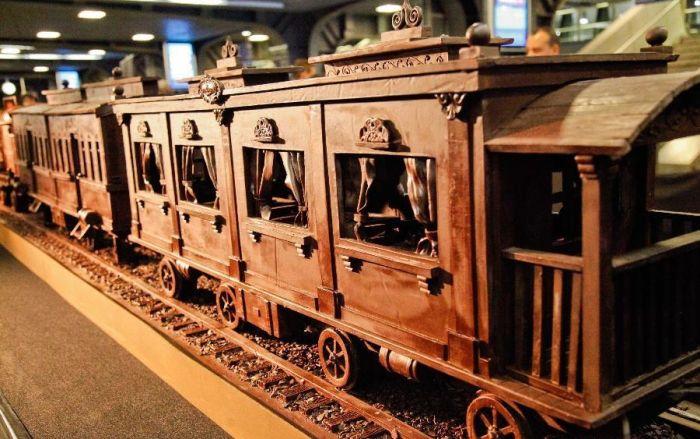 Шоколадный вагон