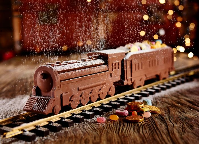 Шоколадный паровоз
