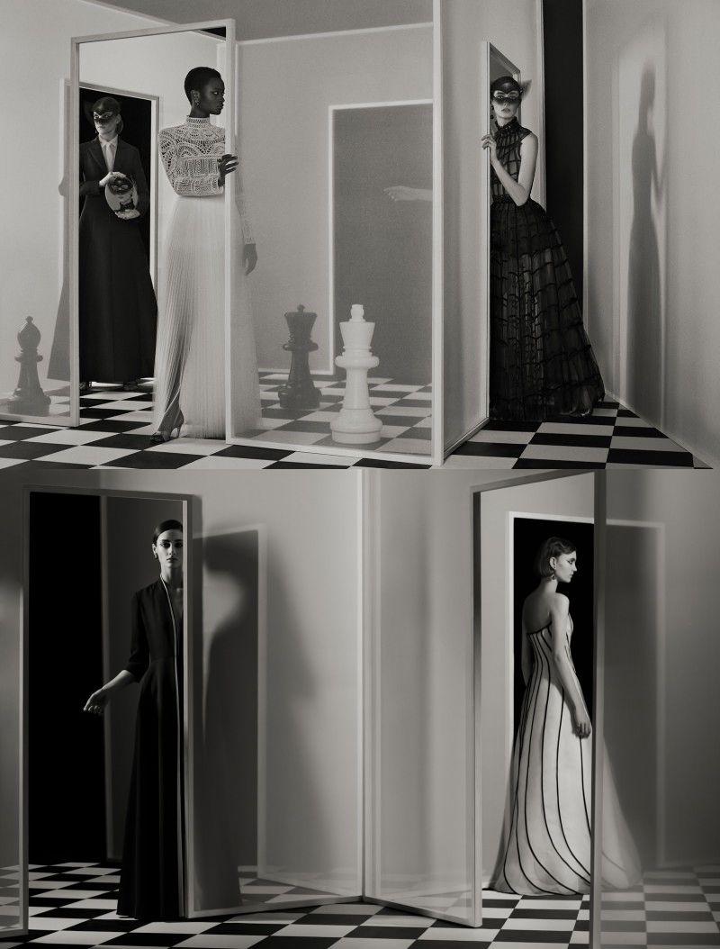 Amanda Googe & Oumie Jammeh for Dior Magazine by Julia Hetta