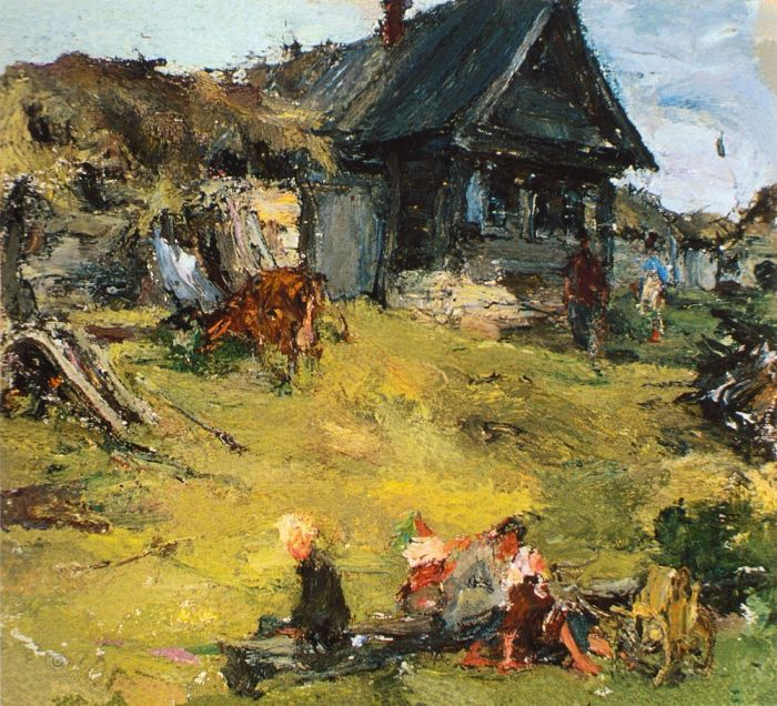 Художник Н.И. Фешин (1881-1955)