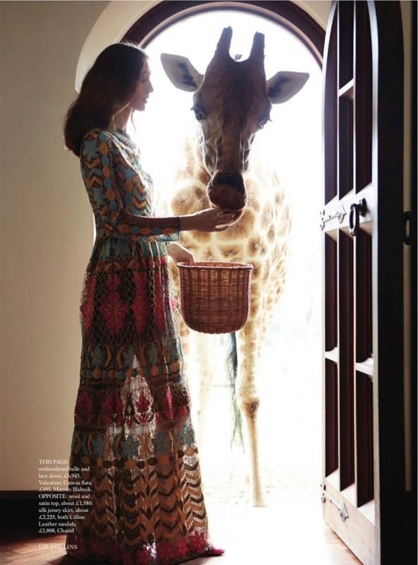 Alana Zimmer for Harper's Bazaar UK by Liz Collins