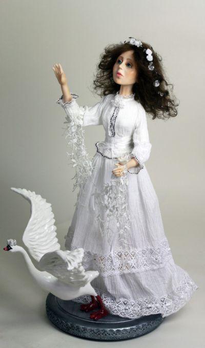 Кукла Дикие лебеди. Автор Татьяна Мартюк