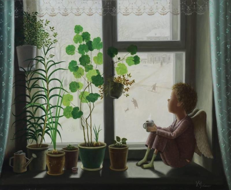 Художник Валентин Алексеевич Губарев