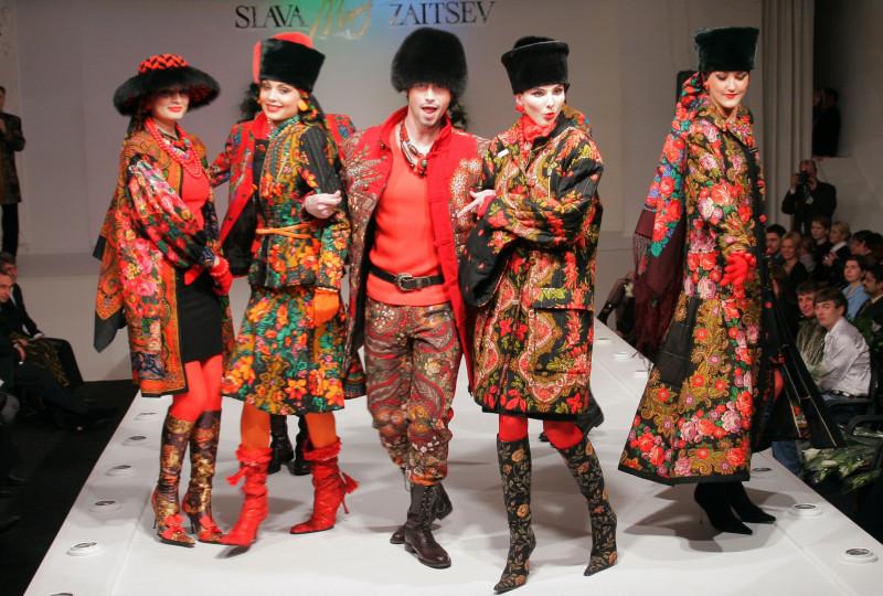 Современная одежда в народном стиле от Славы Зайцева