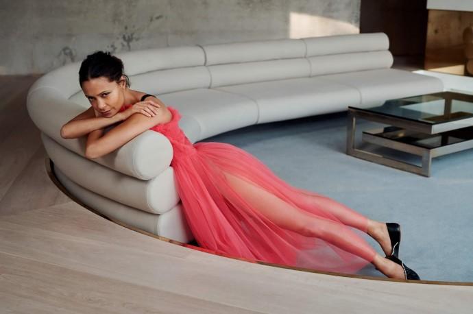 Thandie Newton for PorterEdit by Liz Collins