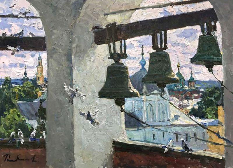 Колокола Художник И.В. Рыбакова