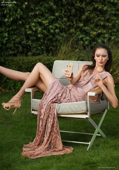 Allie Barrett for Elle Canada by Benjamin Kanarek