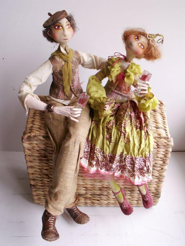 Lina Driziute-Malinauskiene. Авторские куклы.