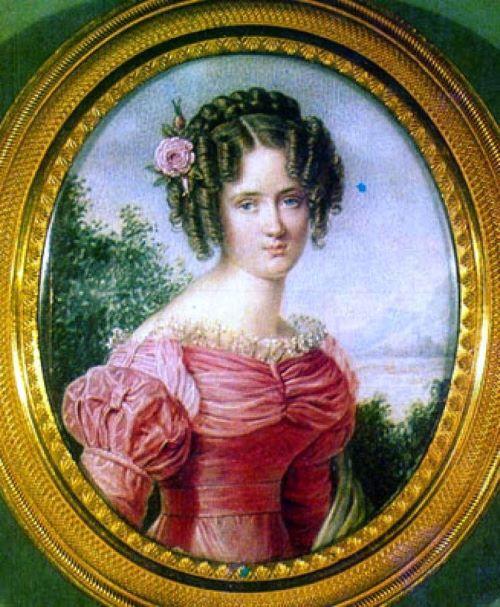 Портрет Елены Николаевны Раевской (1803-1852)