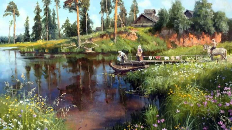 Художник Владимир Юрьевич Жданов (1959)