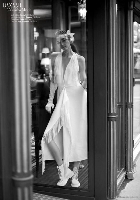 Dajana Antic for Harper's Bazaar Turkey by Benjamin Kanarek