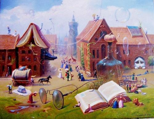 Картины Валентина Рекуненко