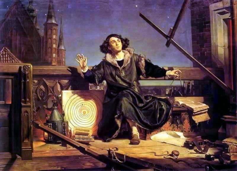 Коперник. Беседа с Богом. 1873 год. Художник Ян Матейко (1838-1893)