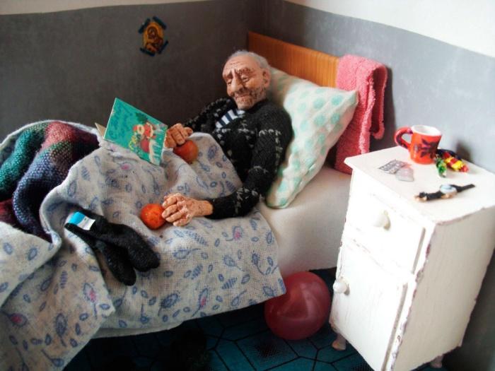 Мастер кукольник Ирина Верхградская