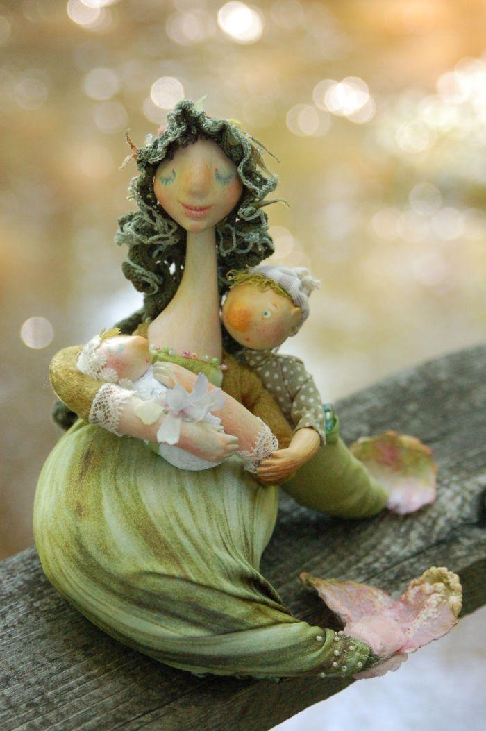 "Кукла ""Рыбонька моя"". Автор неизвестен"