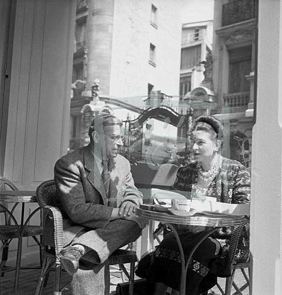 Бовуар и Сартр